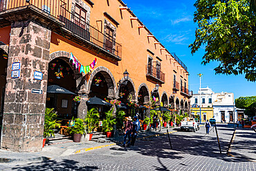 Historic buildings, UNESCO World Heritage Site Tequila, Jalisco, Mexico, North America