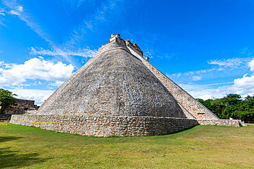 Unesco world heritage site, the Maya ruins of Uxmal, Yucatan, Mexico