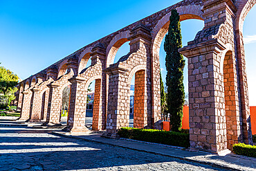Aqueduct of Zacatecas, UNESCO World Heritage Site, Zacatecas, Mexico, North America