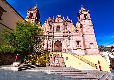 Parroquia de Santo Domingo, UNESCO World Heritage Site, Zacatecas, Mexico, North America