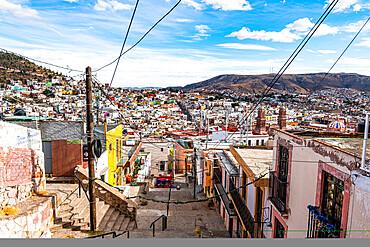 Historic center of Zacatecas, UNESCO World Heritage Site, Zacatecas, Mexico, North America