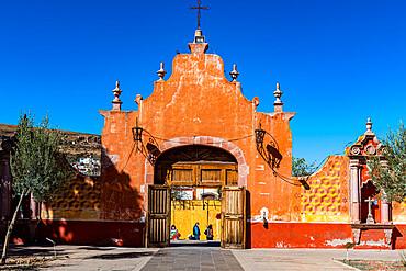 Monastery Franciscano de Nuestra Senora de Guadalupe, UNESCO World Heritage Site, Zacatecas, Mexico, North America