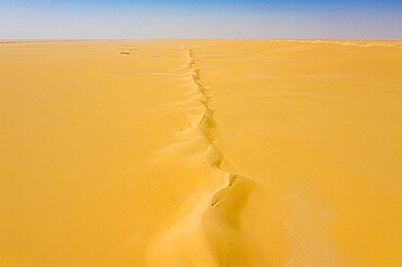 Aerials from the Tenere desert between Bilma and Fachi, Niger, West Africa, Africa