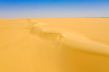 Aerials from the Tenere desert between Bilma and Fachi, Niger, West Africa, Africa
