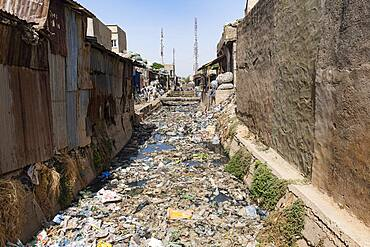 Totally dirty water channel, Kano, Kano state, Nigeria