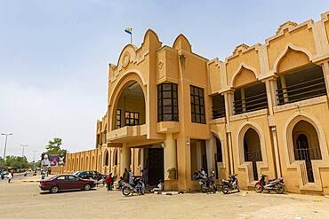 Emir's palace, Bauchi, eastern Nigeria, West Africa, Africa