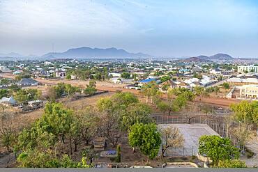 View over Bauchi, eastern Nigeria, West Africa, Africa