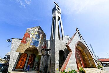 Holy Cross Cathedral, Benin City, Nigeria, West Africa, Africa