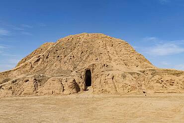 Ziggurat, old Assyrian town of Ashur (Assur), UNESCO World Heritage Site, Iraq, Middle East
