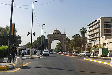 Entrance to the Green Zone, Baghdad, Iraq, Middle East