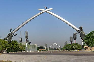 Victory Arch, Baghdad, Iraq, Middle East