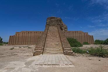 Ziggurat of Dur-Kurigalzu, Iraq, Middle East - 1184-5712