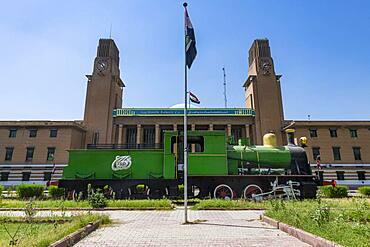 Baghdad Central Railway Station, Baghdad, Iraq, Middle East