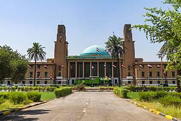 Baghdad Central Railway Station, Baghdad, Iraq, Middle East - 1184-5719