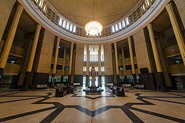 Interior of the Baghdad Central Railway Station, Baghdad, Iraq, Middle East