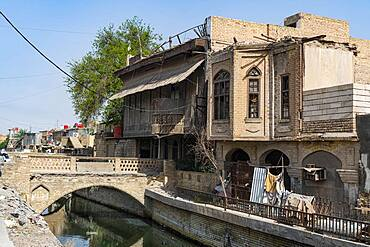Old merchant houses, Basra, Iraq, Middle East - 1184-5724