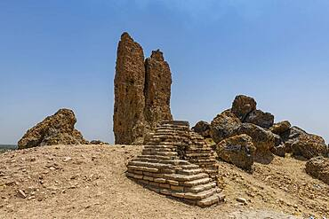 Archaeological site, Borsippa, Iraq, Middle East