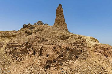 Archaeological site, Borsippa, Iraq, Middle East - 1184-5730