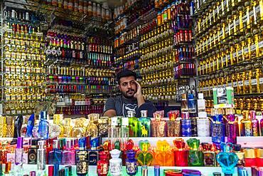 Perfume shop, Kerbala, Iraq, Middle East