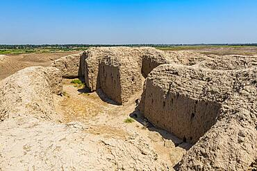 The ruins of the Sumerian town of Kish, Iraq, Middle East