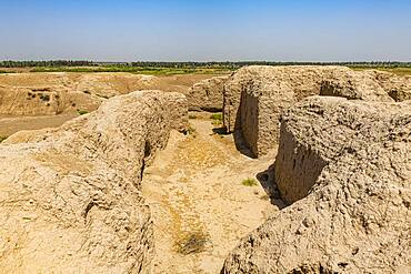 The ruins of the Sumerian town of Kish, Iraq, Middle East - 1184-5758
