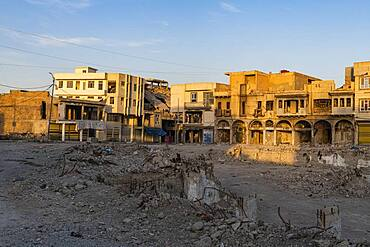Destroyed houses from ISIS, Mosul, Iraq, Middle East