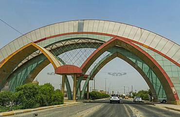 City gate of Najaf, Iraq, Middle East - 1184-5768