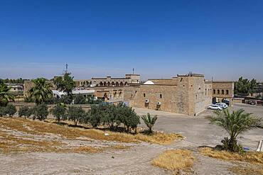 View over the Saint Mar Behnam Monastery, northern Iraq, Middle East - 1184-5770
