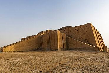 Ziggurat, ancient city of Ur, The Ahwar of Southern Iraq, UNESCO World Heritage Site, Iraq, Middle East - 1184-5781