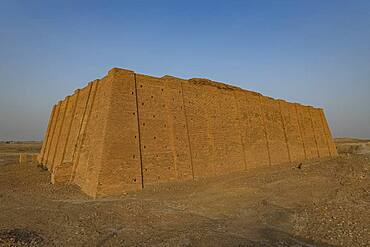 Ziggurat, ancient city of Ur, The Ahwar of Southern Iraq, UNESCO World Heritage Site, Iraq, Middle East - 1184-5782