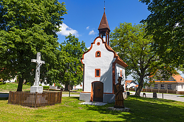 Unesco site historic village of Holasovice, Czech Republic