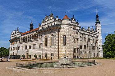 Unesco site Renaissance château in Litomysl, Czech Republic
