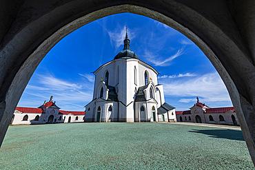 Unesco site Pilgrimage Church of Saint John of Nepomuk, Czech Republic