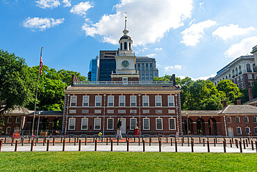 Independence Hall, Philadelphia, Pennsylvania, United States of America, North America