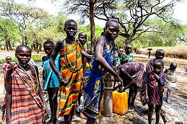 Toposa tribe, Eastern Equatoria, South Sudan, Africa