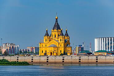 Alexander Nevsky Cathedral on the Volga, Nizhny Novgorod, Russia