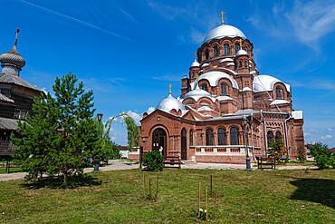 Church of the Holy Trinity, Unesco site Sviyazhsk, Republic of Tartastan, Russia