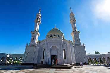 White Mosque, Unesco site Bolgar, Republic of Tartastan, Russia