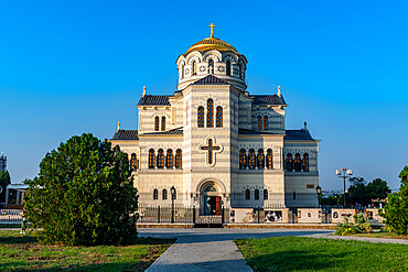 St. Vladimir Cathedral, Unesco site antique Chersonesos, Sewastopol, Crimea, Russia