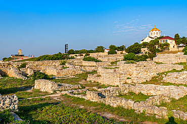 Unesco site antique Chersonesos, Sewastopol, Crimea, Russia
