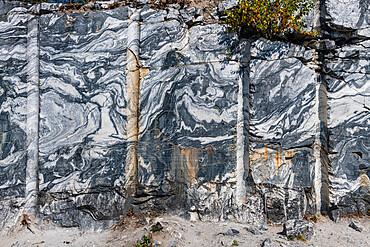 Ruskeala, marble canyon, Karelia, Russia