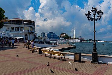 Promenade, Sewastopol, Crimea, Russia
