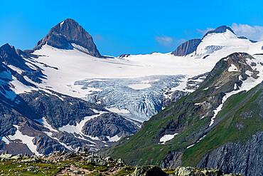 Gries Glacier, Nufenen pass, Switzerland