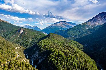 Swiss National Park, Zernez, Rhaetian Alps, Switzerland, Europe