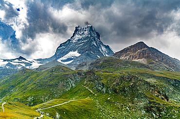Matterhorn mountain, Zermatt, Valais, Swiss Alps, Switzerland, Europe