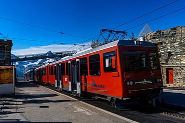 Gornergrat railway, Gornergrat, Zermatt, Switzerland