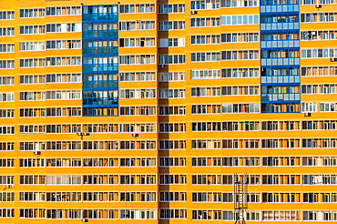 Giant appartment block,Chita, Zabaykalsky Krai, Russia