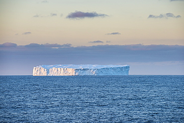 Iceberg floating in the South Orkney Islands, Antarctica, Polar Regions