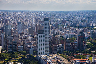 Aerial of Buenos Aires, Argentina, South America