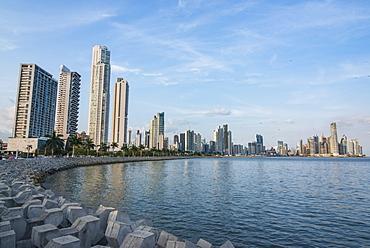 Skyline of Panama City, Panama, Central America